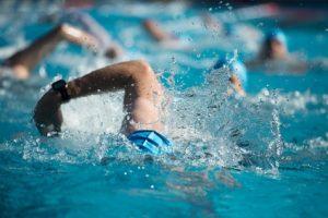 Schwimmbrille für Triathlon